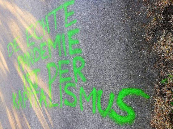 Strassengraffiti (Urheber unbekannt)