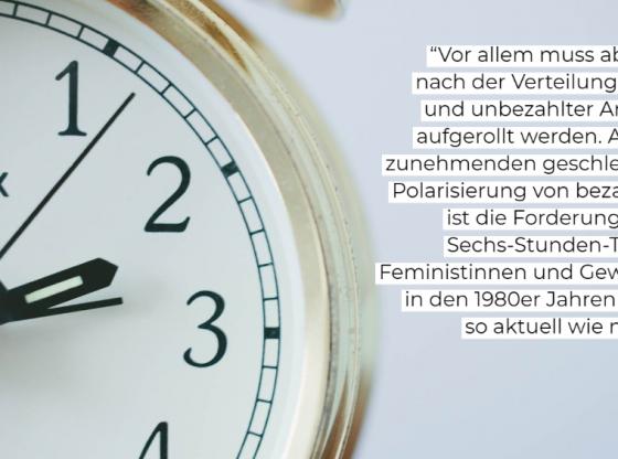 Bild Uhr mit Zitat (Prokla, Pixabay)