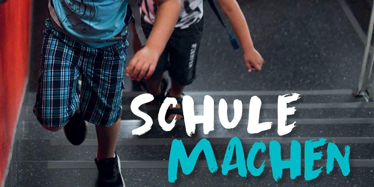 Teil Titel «SCHULE MACHEN», Zeitschrift LuXemburg 2/2021